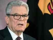 Abschiedsrede von Bundespräsident Gauck