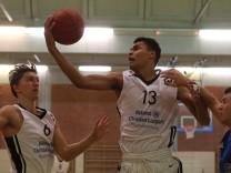 Oscar Da Silva 13 und Christoph Würmseher 6 Schwabing Basketball Regionalliga Südost MTS; Basketball