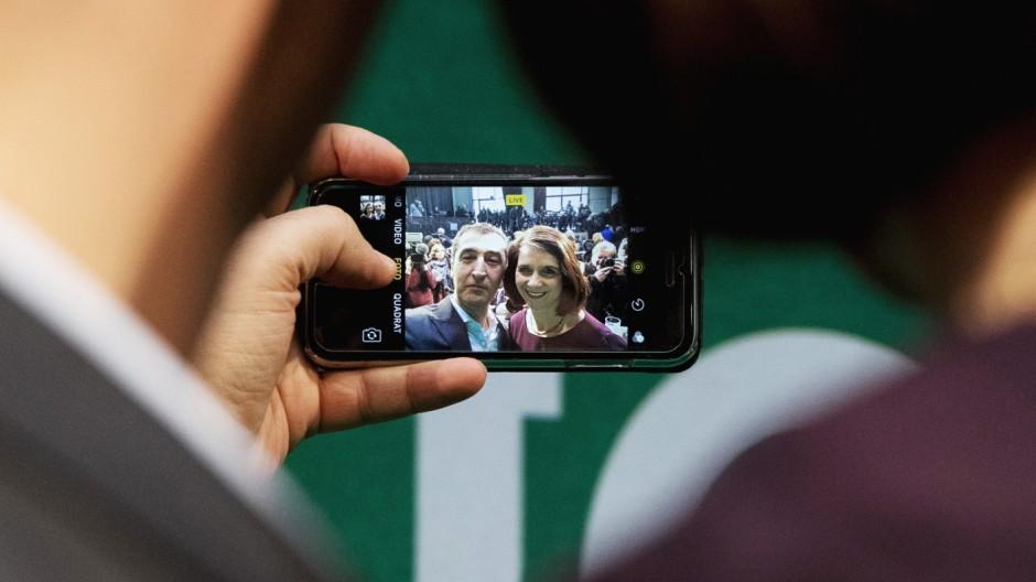 Grüne wählen Spitzenduo zur Bundestagswahl 2017