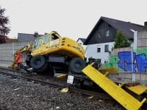 Bahn-Unfall