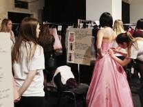 Lena Hoschek Backstage - Mercedes-Benz Fashion Week Berlin A/W 2017