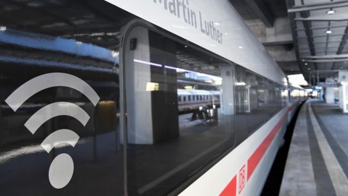 WLAN in ICE-Zügen