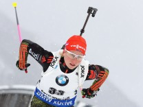 BMW IBU World Cup Biathlon Ruhpolding - 7.5 km Women's Sprint