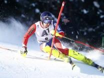 Alpine Skiing - FIS Alpine Skiing World Cup - Men's Slalom