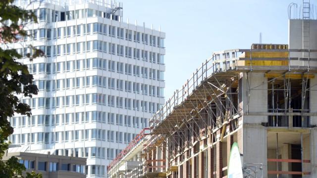 Neubaugebiet auf dem alten Agfa-Gelände in München, 2012