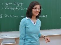 Türkischunterricht im Schulzentrum an der Quiddestraße in München, 2012