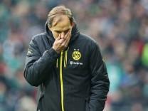 Bremen Germany 21 01 2017 1 Bundesliga 17 Spieltag Werder Bremen BV Borussia Dortmund Trainer