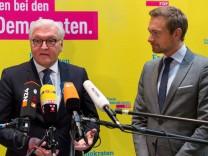 Frank-Walter Steinmeier beim FDP-Bundesvorstand