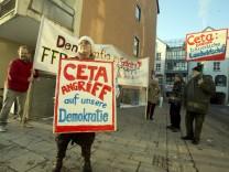 Bruck: Protestaktion gegen TTIP / CETA