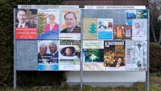 Plakate Bürgermeister Unterschleißheim