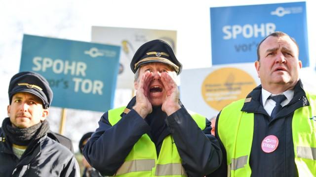 Arbeitskampf bei Lufthansa