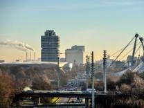 Skyline im Norden von München, 2016