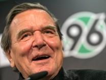 Hannover 96 Aufsichtsrat Schröder