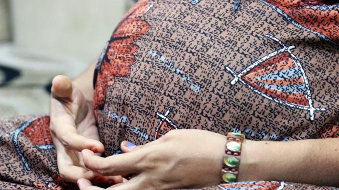 Eine Leihmutter in Indien. (Foto: dpa)