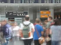 Flughafen München Ferien Abflug