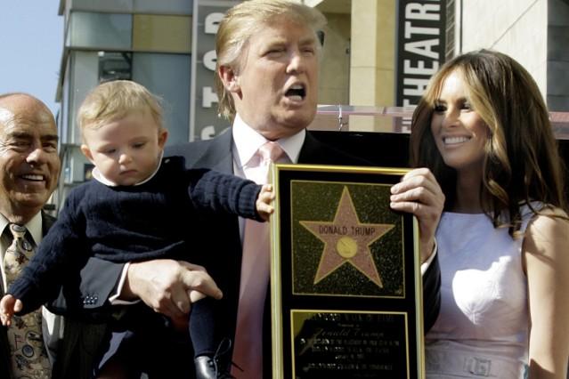 Trump Sohn Barron Little Donald Panorama Sz De