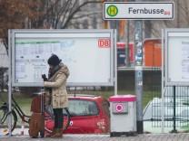 Fernbusbahnhof in Göttingen