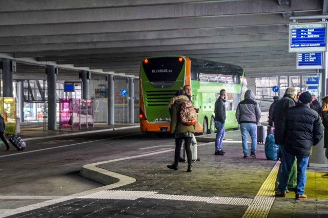 Fernbus-Bahnhof