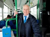 Traubing Busfahrer Franz Baumgartner
