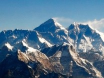 File photo of Mount Everest and other peaks of the Himalayan range seen from air during a mountain flight from Kathmandu