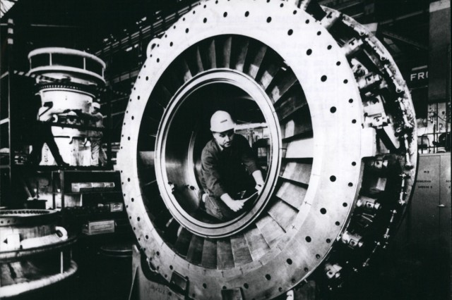 Feb 29 2012 West German Gas Turbines For The Soviet Union The West German firm AEG Kanis has re