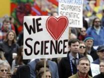 Wissenschaftler gegen Trump