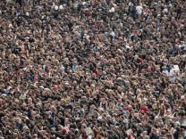 Menschenmenge in München