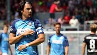 30 07 2016 xsvx Fussball 3 Liga SV Wehen Wiesbaden VfR Aalen emspor v l Markus Schwabl VfR; Fußball