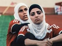 Palästinensische Fußballerinnen