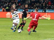 Bayer 04 Leverkusen Borussia Mönchengladbach 28 01 2017 Tor zum 3 2 für Mönchengladbach durch Raf