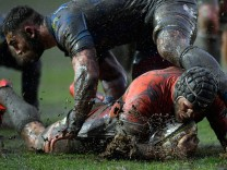 BESTPIX - Newport Gwent Dragons v Newcastle Falcons - Anglo-Welsh Cup