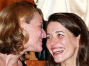 Miriam Meckel und Anne Will