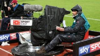 v li Sky Kamera Kamerateam Symbolfoto Symbolbild Sport Cast Fussball 2 Bundesliga 1 FC Nü