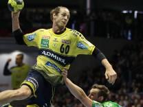 Beim Wurf Kim Ekdahl du Rietz Rhein Neckar Löwen Handball Bundesliga Saison 2016 2017 Punktspi