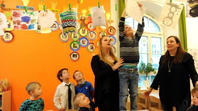 Kinderbetreuung in München Befragung