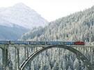 Zug Winter _ Arosa Tourismus