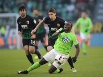 Paul Georges Ntep VfL Wolfsburg Framberger Raphael FC Augsburg