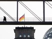 Kühles Frühlingswetter in Berlin