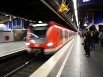 S-Bahnhof in München, 2012