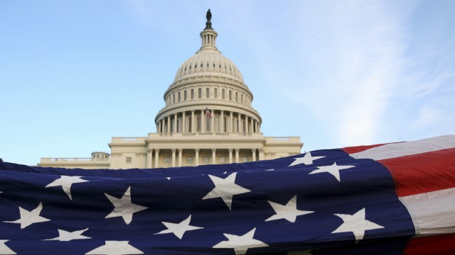 Tea Party Patriots host a Flag Ceremony at the U.S. Capitol in Washington