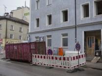 Baustelle Holzapfelstraße 10 München