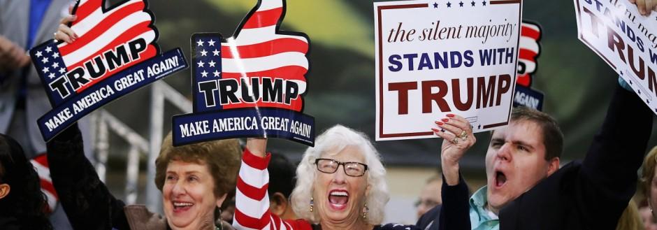 Donald Trump Holds Campaign Rally In Richmond, VA