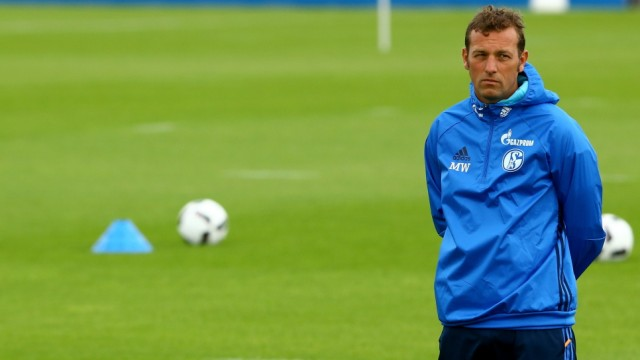 Schalke 04 - Training Session; Weinzierl