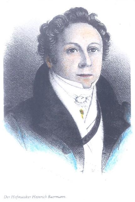 Heinrich Joseph Bärmann (1784 bis 1847)