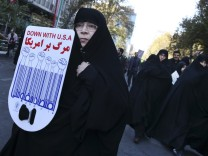 Anti-amerikanische Demonstration in Iran