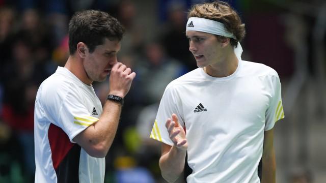 Davis Cup Zverev Bruder Missachten Das Drehbuch Sport
