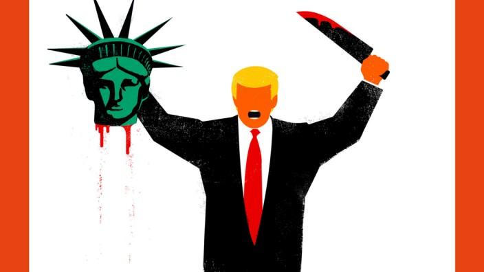 "Trump-´Spiegel""-Cover"