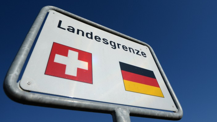 Deutsch-schweizierische Grenze