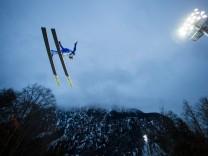 Skifliegen in Oberstdorf