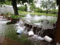 Überschwemmung Hachinger Bach